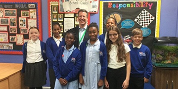 Djanogly Northgate Academy pupils take part in a mock general election