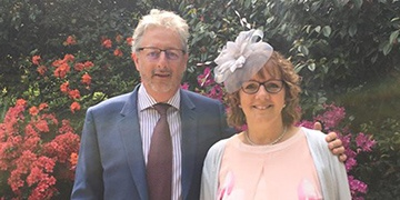 Djanogly Learning Trust CEO attends royal garden party